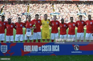 Rússia 2018: Inglaterra