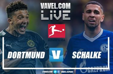 Resumen de Borussia Dortmund vs Schalke 04 EN VIVO online por Bundesliga 2019/20