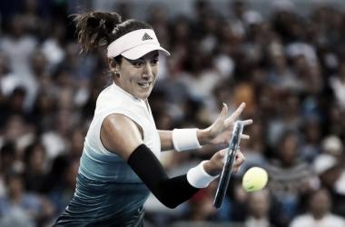 Muguruza segue na luta pelo terceiro título de Grand Slam da carreira na Austrália (Foto: Divulgação/WTA)