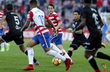 Escasos pero favorables precedentes del Granada CF ante el Huesca