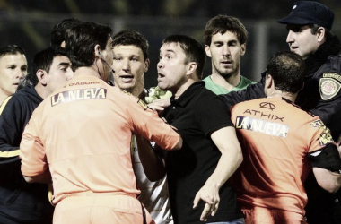 CON POLÉMICA. La última victoria Xeneize fue por la final de la Copa Argentina 2015. FOTO: @DavidRS15.