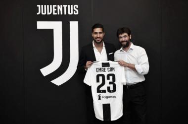 Can vestirá a camisa 23 (Foto: Juventus FC/Valerio Pennicino)