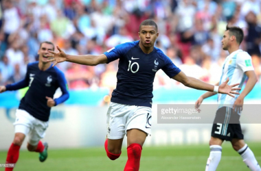 Kylian Mbappe shines as France edge past Argentina