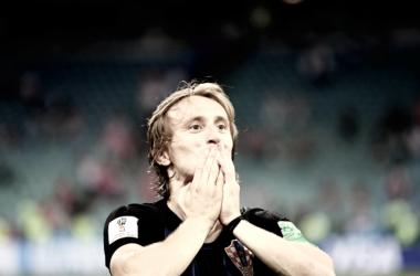 Luka Modric , el mejor jugador del partido | Fotografía: FIFA
