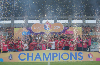 Persib Bandung Juara Liga 1 Putri