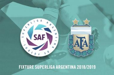 La AFA y Superliga presentaron el fixture. (Foto: AFA)