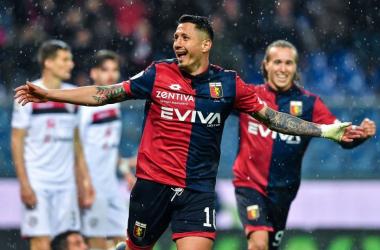 Medeiros! Il Genoa batte il Cagliari 2 a 1. A segno anche Lapadula