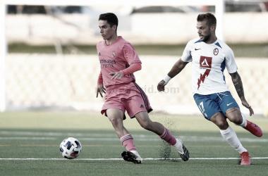 El partido entre el Rayo Majadahonda y el Castilla, suspendido por la COVID-19