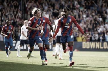 Crystal Palace festejó. Foto Premier League.