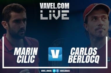 Resultado Marin Cilic vence Carlos Berlocq na estreia do Rio Open 2018 (2-0)