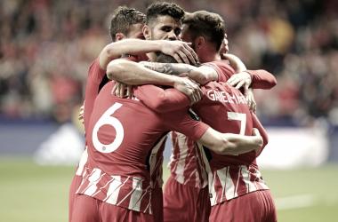 El Atlético de Madrid tiene de cara su eliminatoria de Europa League    FOTO: Club Atlético de Madrid.