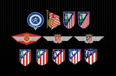 Varias peñas del Atlético muestran su rechazo al cambio de escudo
