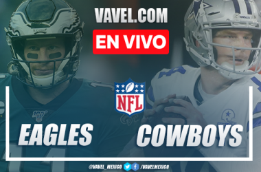 Touchdowns y resumen del Philadelphia Eagles 17-37 Cowboys en la NFL 2020