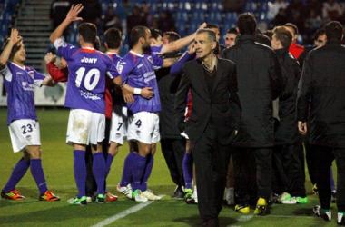 """Carlos Terrazas: """"Ha sido un partido muy duro, muy difícil"""""""
