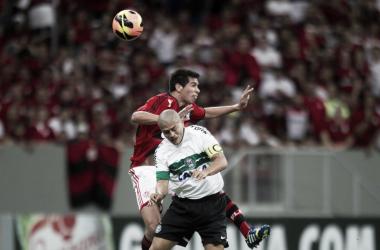 Coritiba empata com o Flamengo e segue invicto