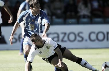 El '15' apenas contó con oportunidades en Salamanca. | Foto (sin edición): Contragolpe.