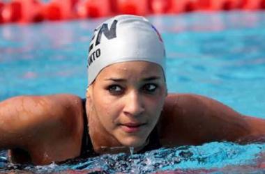 Andreina Pinto irá a la final de los 800 metros estilo libre.