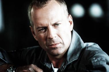 Bruce Willis, encarnando al valiente Harry S Stample en Armaggedon, de Michael Bay. Foto: news.com.