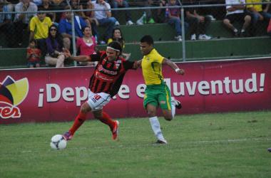 CD Lara consiguió su primera victoria del torneo ante El Vigía