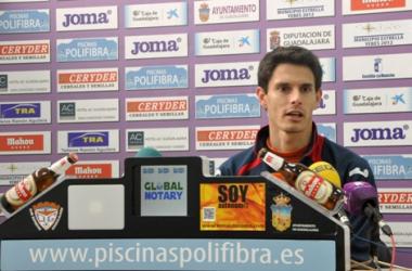 "César Soriano: ""Queremos intentar acercarnos a la zona media"""