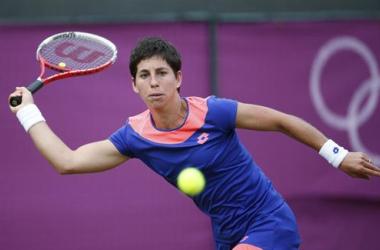 Carla Suárez se despidió en segunda ronda de los Juegos de Londres.