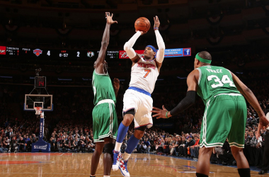 "Melo et Smith, l'assurance tous ""Knicks"""