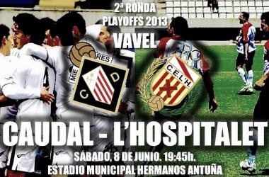 Caudal Deportivo - L'Hospitalet, así lo vivimos