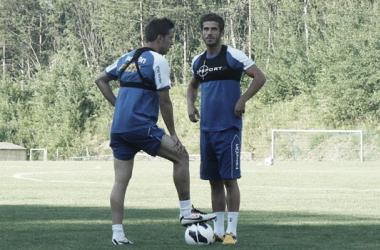 De Lucas en Rumanía. | Foto (sin edición): FC Petrolul.
