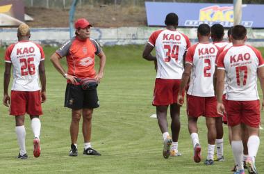 El Nacional se prepara para enfrentar al Deportivo Quito
