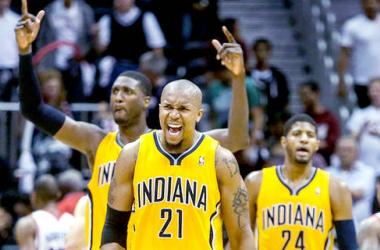 Jogando em Atlanta, Pacers vence e elimina Hawks