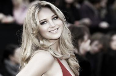 Jennifer Lawrence, en la alfombra roja de los Óscar. Foto: wallpaperhd.me.