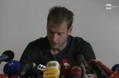 """Schwazer in conferenza stampa: """"Mi sono distrutto da solo"""""""