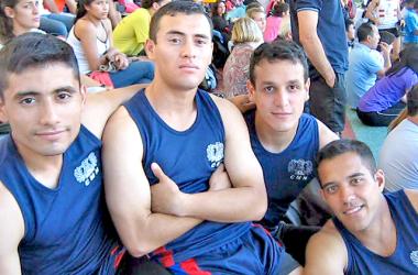 Los atletas del Ejército Argentino también dijeron presente