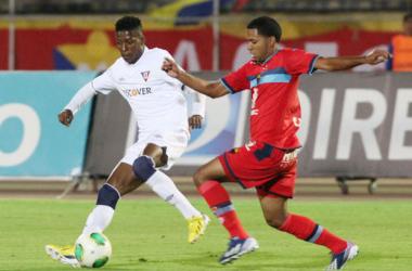 Villacrés le da la victoria a El Nacional sobre Liga de Quito
