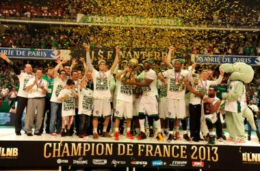 La joie des franciliens après ce titre inespéré. (©LFB)