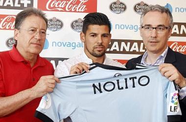 Celta de Vigo contrata Nolito