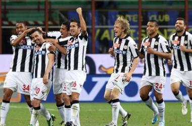 Udinese goleia Inter e se garante na Europa League