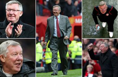 Alex Ferguson: 26 anos de glórias e títulos pelo Manchester United (Foto: BBC News)