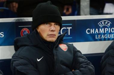 Trio de saída do Arsenal