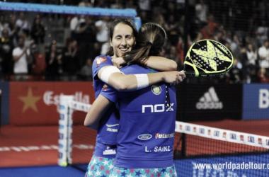 Abrazo de Gemma y Lucía I Foto: wpt
