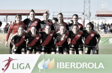 Once del equipo femenino ante el Sevilla   Fotografía: Rayo Vallecano S.A.D.