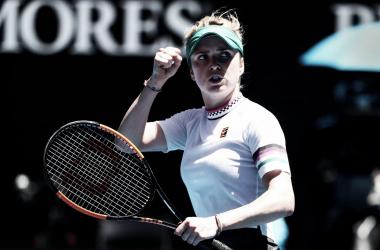 Svitolina avança às oitavas depois de partida de quase 3 horas na terceira ronda (Foto: Divulgação/WTA)