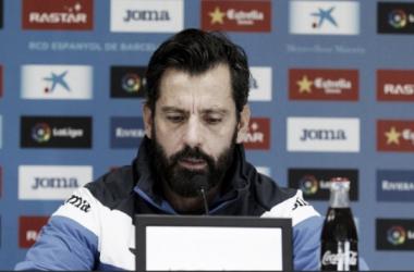 """Quique Sánchez Flores: """"Es un partido donde hay muchas emociones y mucho sentimiento de por medio"""""""