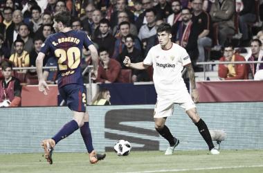 Correa tiene las horas contadas en Sevilla. Foto: Sevilla FC.