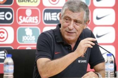 """Fernando Santos: """"Fue un buen entrenamiento"""""""