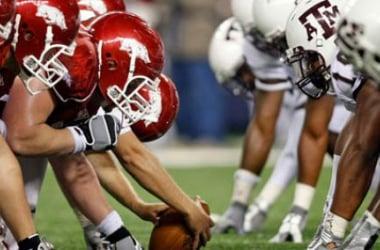 Texas A&M Aggies Kickoff Conference Play Against Arkansas Razorbacks