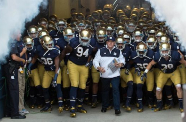 Notre Dame could be in store for a big season in 2015. Photo by Matt Cashore.