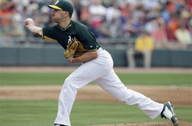 A's Clobber Giants in Opening Spring Training Game