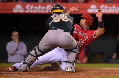 The A's ran into the Angels this weekend and LA did more than enough to stay on top of the AL West. (Mark J. Terrill, AP)