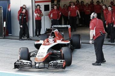 Grupo de Estratégia veta uso do carro de 2014 pela Marussia
